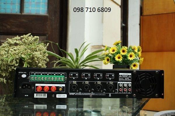 Thiết kế của AMPLY DB LP-100T CHIA 5 VÙNG 100W