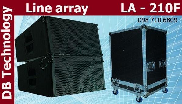 Thiết kế của loa DB LA-210F
