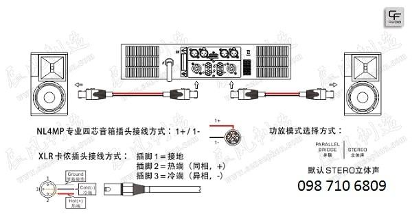 Thiết kế của LOA HỘI TRƯỜNG CF TC – 10