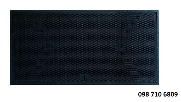 Thiết kế  của LOA SUB ĐÔI DB CTX 218S
