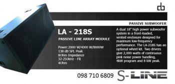 LOA SUBWOOFER DB LA-218S