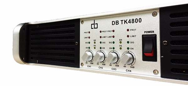 Cục đẩy công suất DB TK 4800 với 800W// kênh