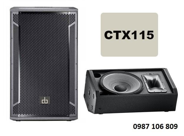 Loa full đơn CTX 115
