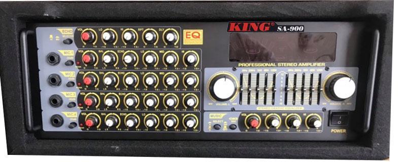 Thiết kế tuyệt đẹp của amply KING SA 900