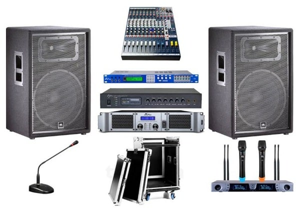 Các thiết bị âm thanh hội trường cơ bản