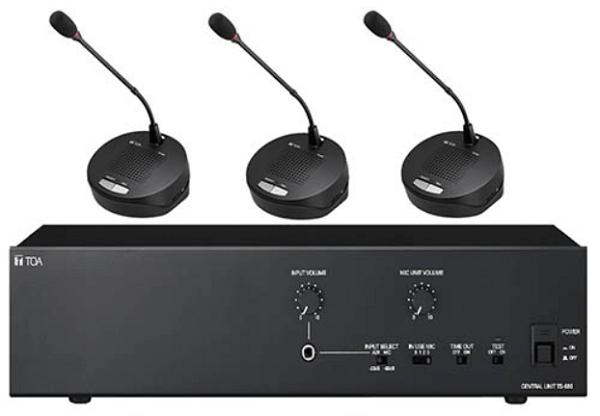 Cấu hình âm thanh hội nghị TOA TS-680