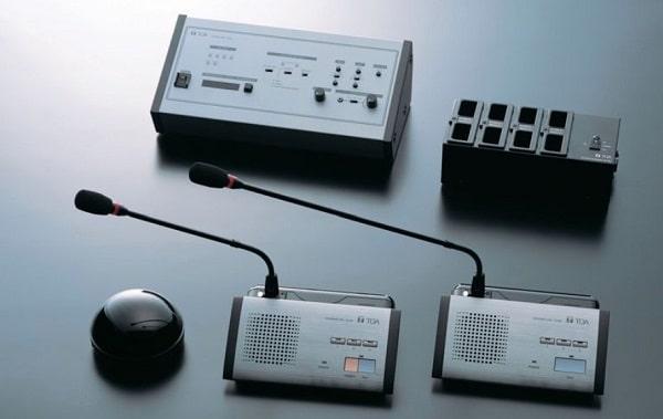 Hệ thống âm thanh phòng họp TOA hồng ngoại TS-800