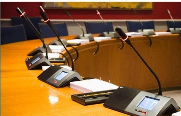 Giải pháp âm thanh hội nghị TOA kết hợp JTS