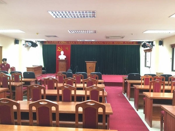 Hệ thống âm thanh hội thảo hội nghị 250m2