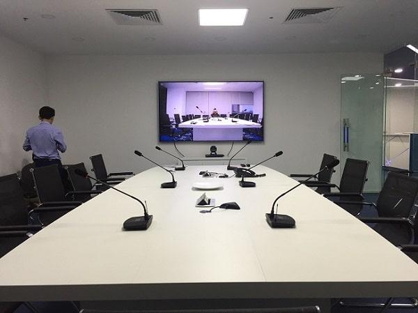 Đơn vị cung cấp hệ thống âm thanh phòng họp chuyên nghiệp, hỗ trợ đầy đủ CO-CQ