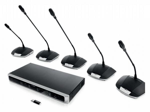 Giải pháp âm thanh hội nghị Bosch kỹ thuật số CCS-1000D