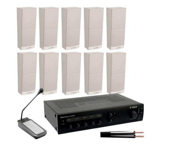 Giải pháp âm thanh phòng họp Bosch đơn giản