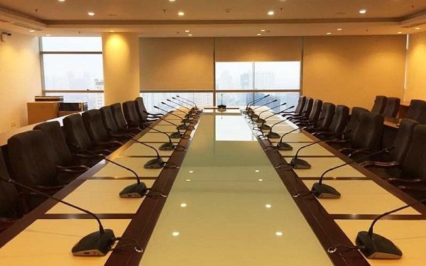 [19+] Giải pháp âm thanh hội nghị Toa chất lượng cho phòng họp