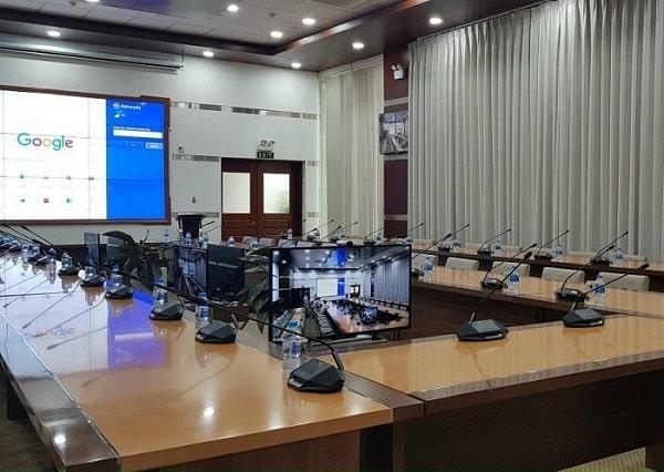 Khảo sát phòng họp, hội nghị trước khi lắp đặt