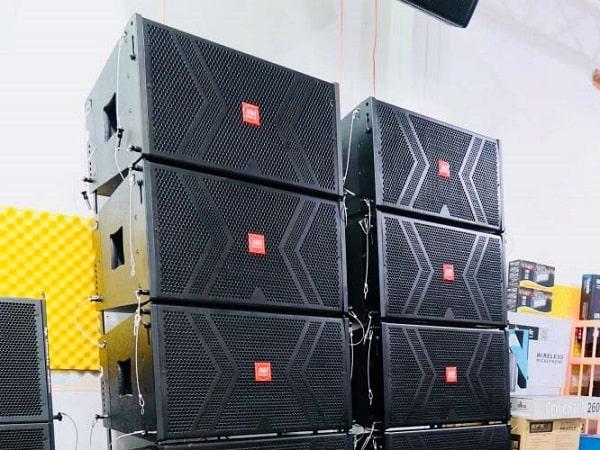 Thanh lý dàn âm thanh đám cưới cực khủng với dàn loa array
