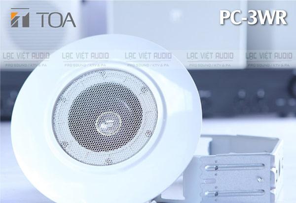 Giá loa âm trần 3W TOA PC-3WR: 950.000 đồng