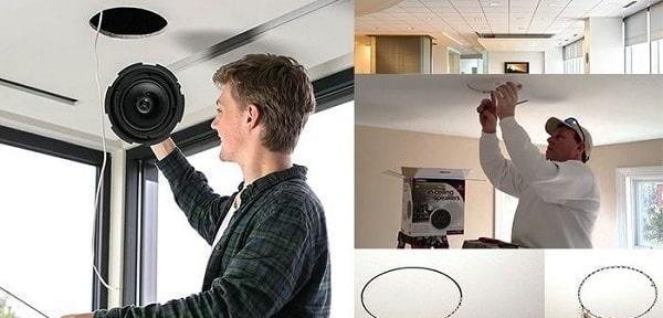 Lắp đặt loa âm trần chuẩn kỹ thuật giúp đem lại nhiều lợi ích