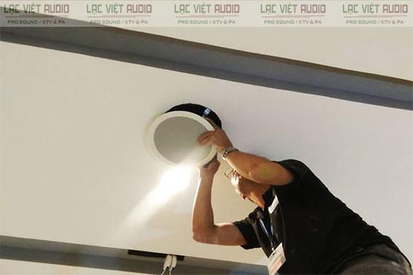 Loa âm trần 3W được sử dụng nhiều tại chung cư, siêu thị, toà nhà,...