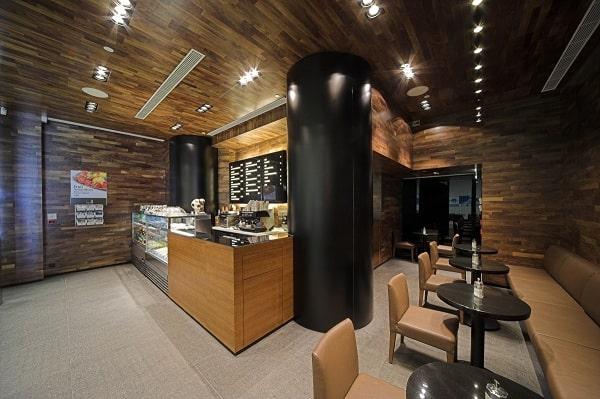 Loa âm trần quán cafe - Giải pháp âm thanh thông minh mới