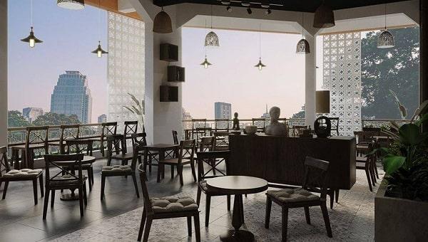 Giải pháp loa âm trần quán cafe cho diện tích từ 100-150m2
