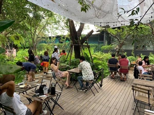 Dàn âm thanh cho quán cafe sân vườn cao cấp