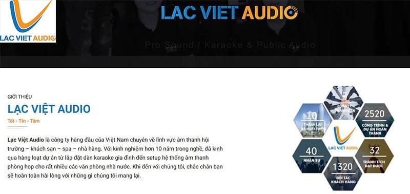 Lạc Việt Audio – Thiết bị âm thanh chính hãng số 1 Việt Nam