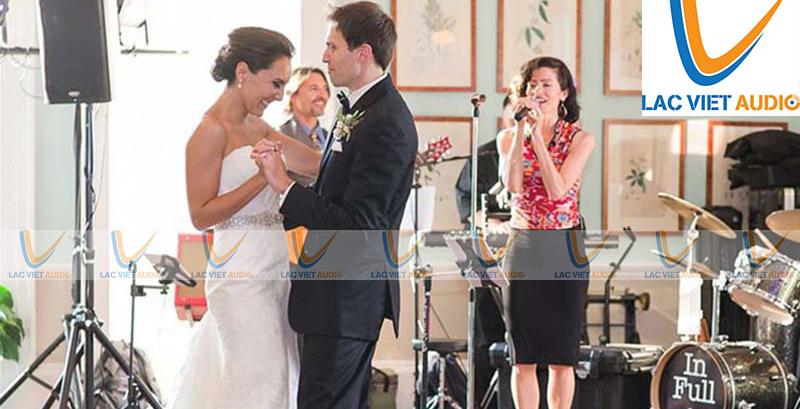 Test loa đài đám cưới là hoạt động cần dùng trong nhiềucông việc khác nhau