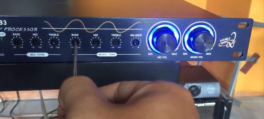 Cách chỉnh vang cơ B3 phần Music Tone