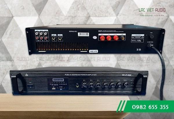 Amply cho loa phóng thanh DB LP-480F