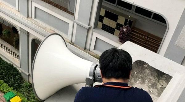Lắp đặt loa phát thanh cần hướng tới không gian của người nghe