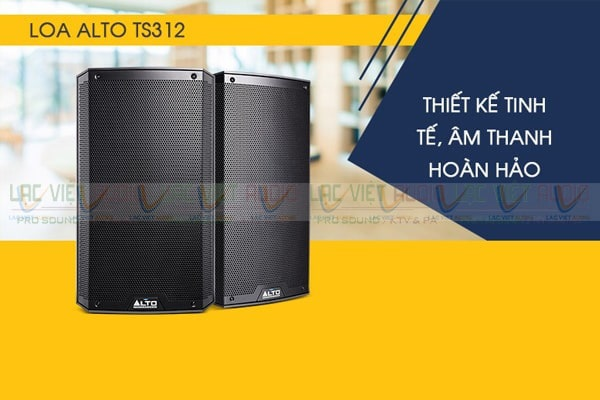 Loa sân khấu 3 tấc Alto TS312: Giá 17.900.000 đồng