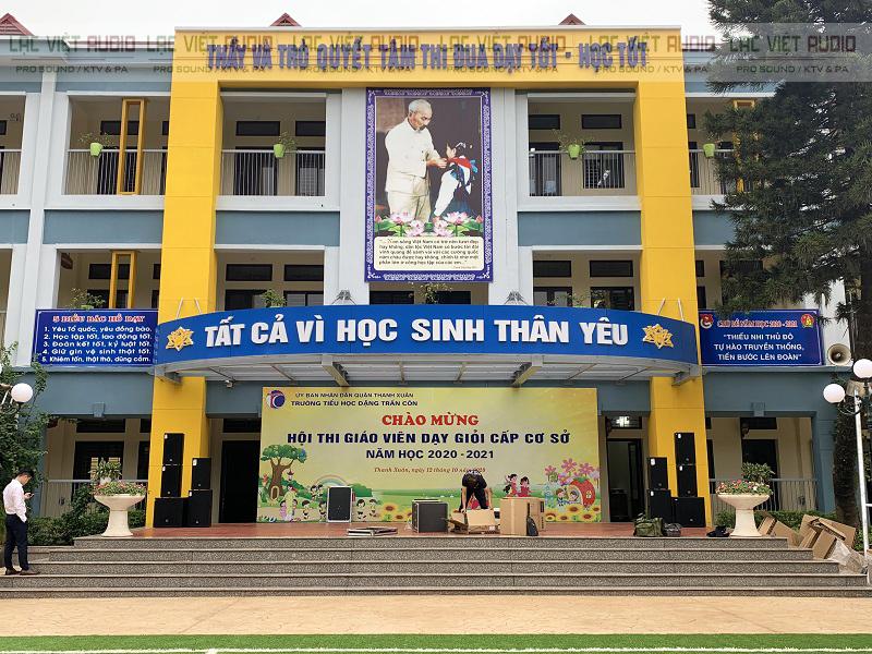 Dự án lắp đặt dàn âm thanh hội trường tại Trường Đặng Trần Côn