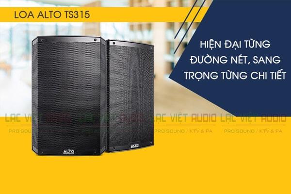 Mua loa Alto TS315 tại Lạc Việt Audio