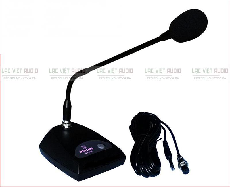 Micro Philip – DK 390 có chất âm thanh chân thực, dễ nghe