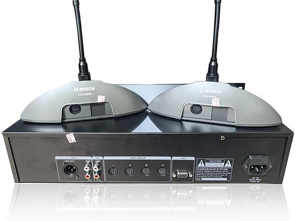 Mua micro đại biểu Bosch CCS-990C chính hãng tại Lạc Việt Audio