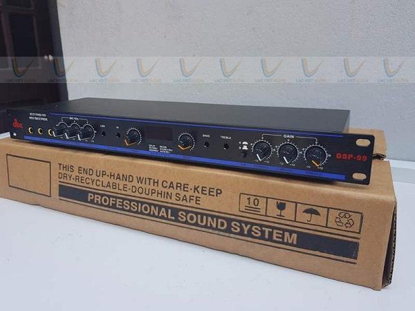 Vang cơ DBX DSP 99 có thiết kế đẹp mắt hiện đại