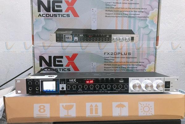Vang cơ Nex FX20 Plus hỗ trợ nhiều nguồn âm thanh