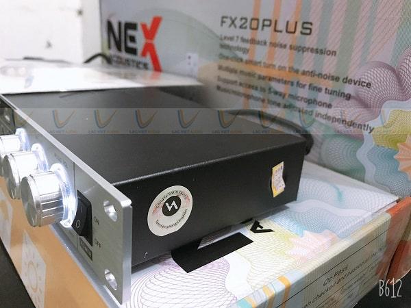 Vang cơ Nex FX20 Plus có thiết kế nhỏ gọn đẹp mắt