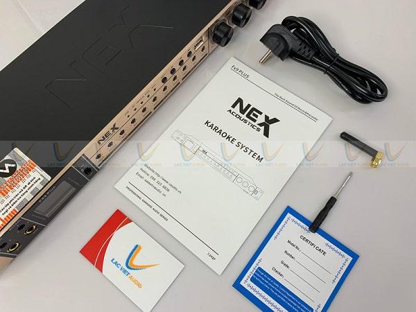 Vang cơ NEX FX9 Plus thật có đầy đủ phụ kiện đi kèm