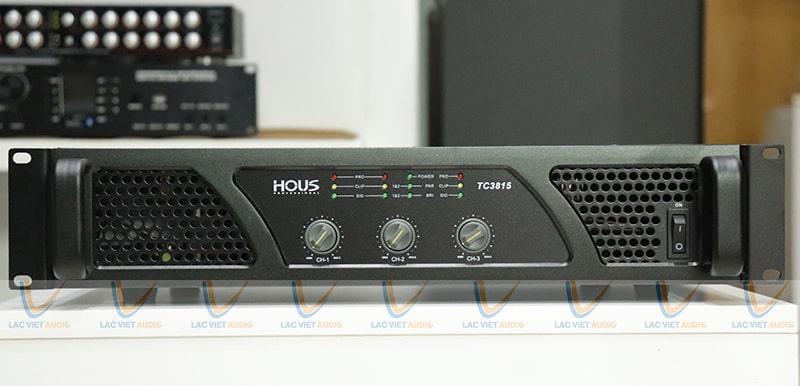 Cục đẩy Công suất HOUS TC-3815 có thể được dùng với nhiều mục đích khác nhau