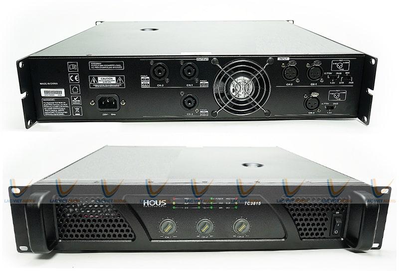 hous tc-3815 có thiết kế mặt trước và sau đều rất hài hòa, tiện dụng