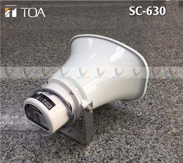 Lo a phóng thanh 30W TOA SC 630 cho chất âm thanh rõ ràng, chân thực
