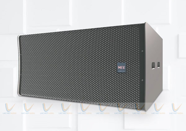 Loa MIX X-218 trang bị hệ thống linh kiện chất lượng