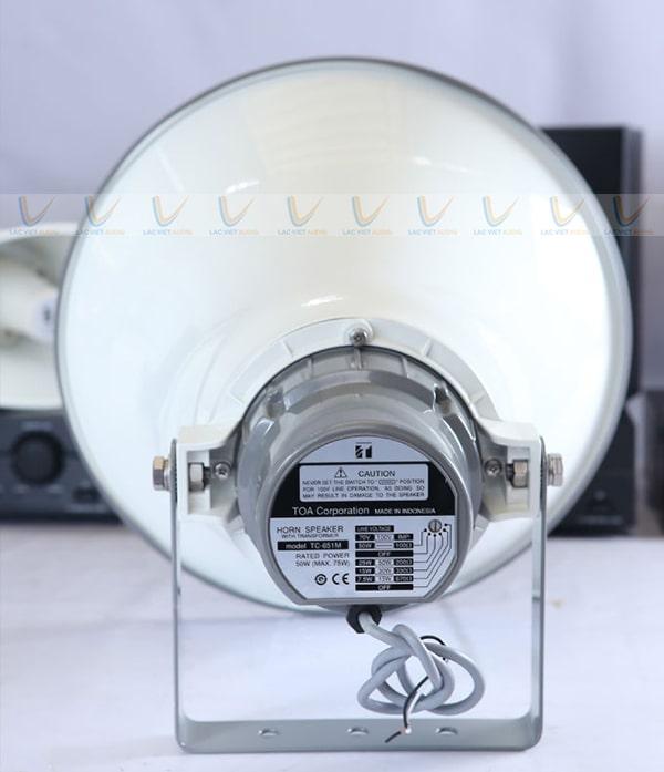 Sản phẩm có khả năng tương thích tốt với các dòng amply phát thanh có trên thị trường