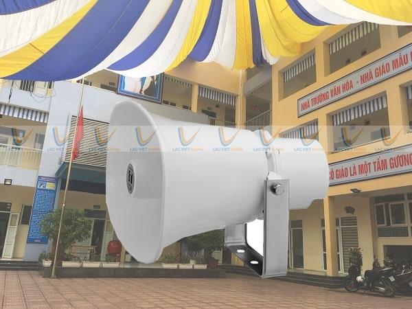 Sản phẩm được sử dụng cho hệ thống âm thanh trường học, nhà xưởng,...
