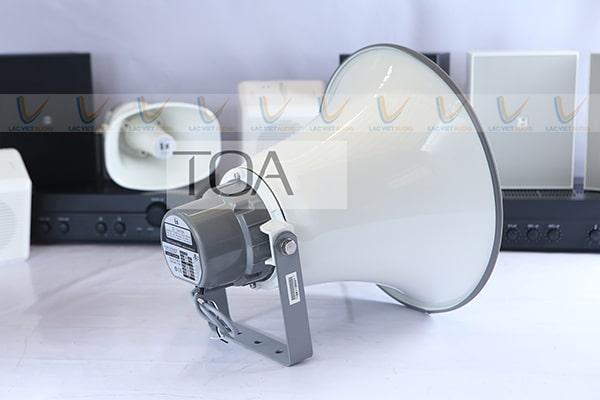 TOA TC-651M có khả năng định hướng âm thanh tốt