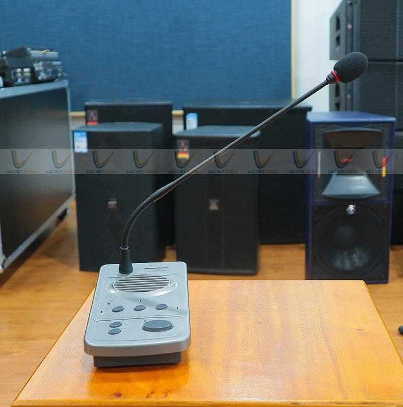 Micro chủ tọa Paso B2100-PG thu tiếng cực sáng và chân thực