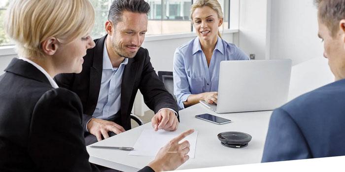 Micro cho phòng họp trực tuyến
